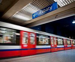 Tragedia w warszawskim metrze. Mężczyzna wpadł pod pociąg