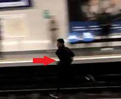 Metro zatrzymane. Pasażer na gapę ryzykował życie