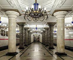 Stacje metra w Petersburgu. Ładniejsze od warszawskich?