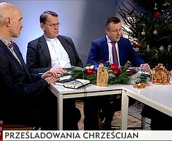 """""""Tam gdzie wchodził islam, była przemoc i gwałt"""" Świąteczny nastrój ks. Oko w TVP Info"""