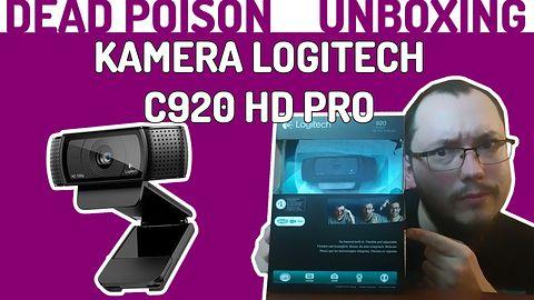 Unboxing PL #02 Kamera Logitech C920 HD PRO