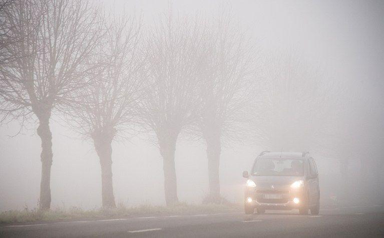 Mgła znacząco ogranicza widoczność
