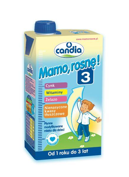 Mamo, rosnę!3 - płynne mleko następne dla dzieci w wieku od 1 roku do 3 lat