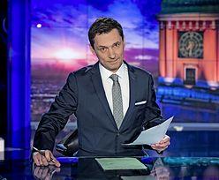 """Prezenter """"Wiadomości"""" pokazuje zdjęcie rozjechanego trawnika. I wywołuje gorącą dyskusję"""