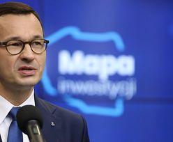 """Morawiecki chwali się rządowymi inwestycjami. """"Jesteśmy coraz bardziej niezależni od źródeł zewnętrznych"""""""