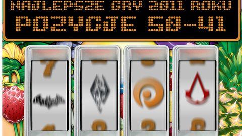 50 najlepszych gier 2011 roku według redakcji Polygamii - miejsca 50-41