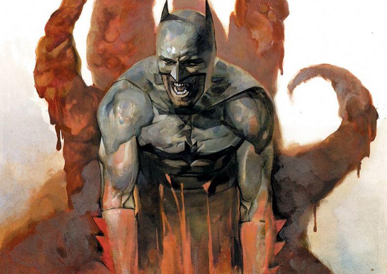 Ostatnie starcie Batmana. Mordercza glina i nietoperz