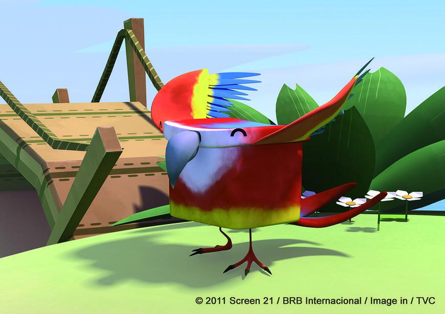Zoo zgadula na MiniMini+ - Papuga