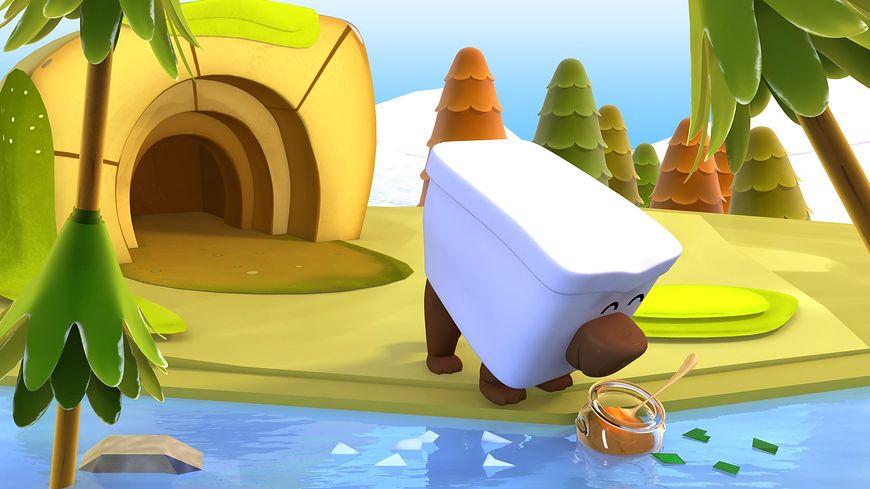 Zoo zgadula na MiniMini+ - Niedźwiedź