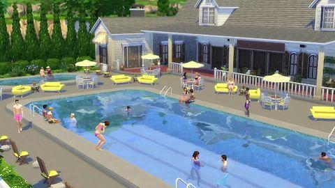 Rewolucja w The Sims 4 - w grze pojawiły się... baseny!
