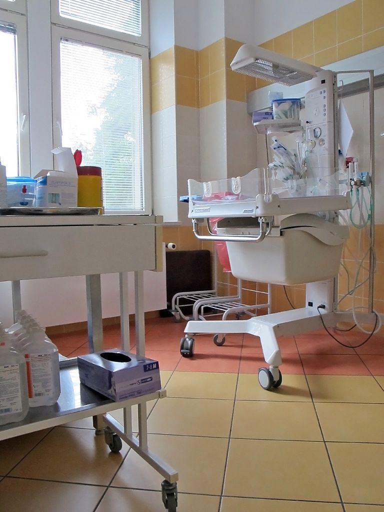Miejsce badań noworodka
