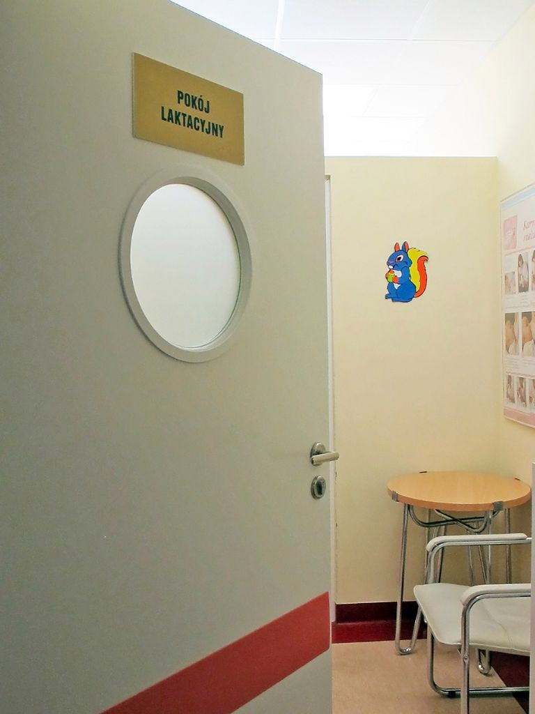 Wejście do gabinetu laktacyjnego