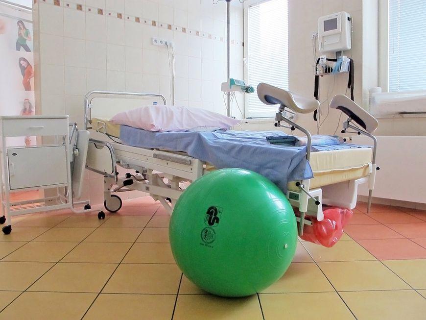 Piłka w sali porodowej