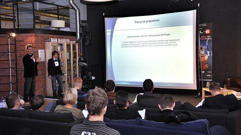 Konferencja prasowa CD Projekt o połączeniu z Optimusem