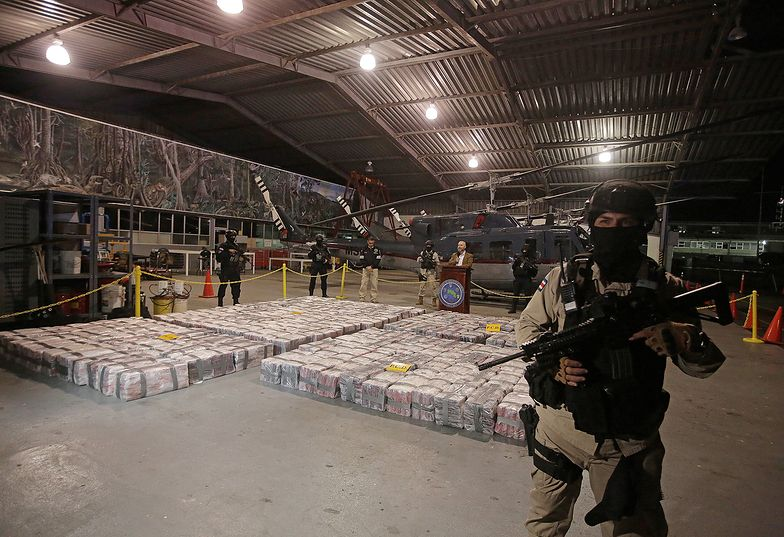 Kostaryka. Udaremniono gigantyczny transport kokainy do Europy