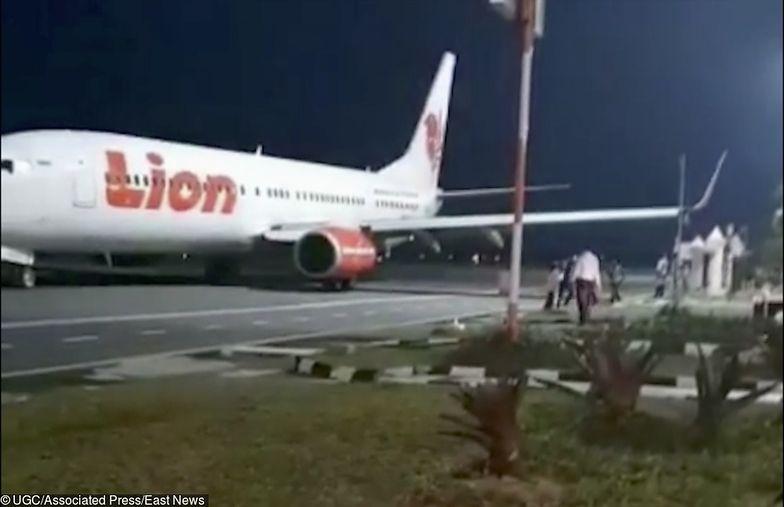 Kolejny wypadek Boeinga Lion Air. Połamał skrzydło