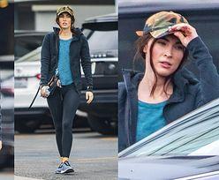 Zapomniana Megan Fox opuszcza siłownię w pełnym makijażu. Bardzo się zmieniła? (ZDJĘCIA)