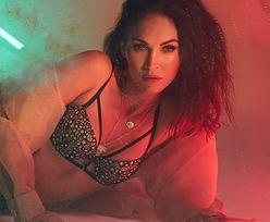 Megan Fox w seksownej bieliźnie. Widać, że urodziła 3 dzieci?