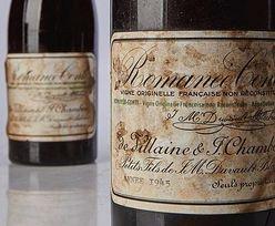 Nowe najdroższe wino świata. Cena zwala z nóg