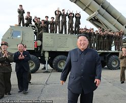 """Korea Północna znowu straszy. Kim Dzong Un przeprowadził testy """"superdużej wyrzutni"""""""