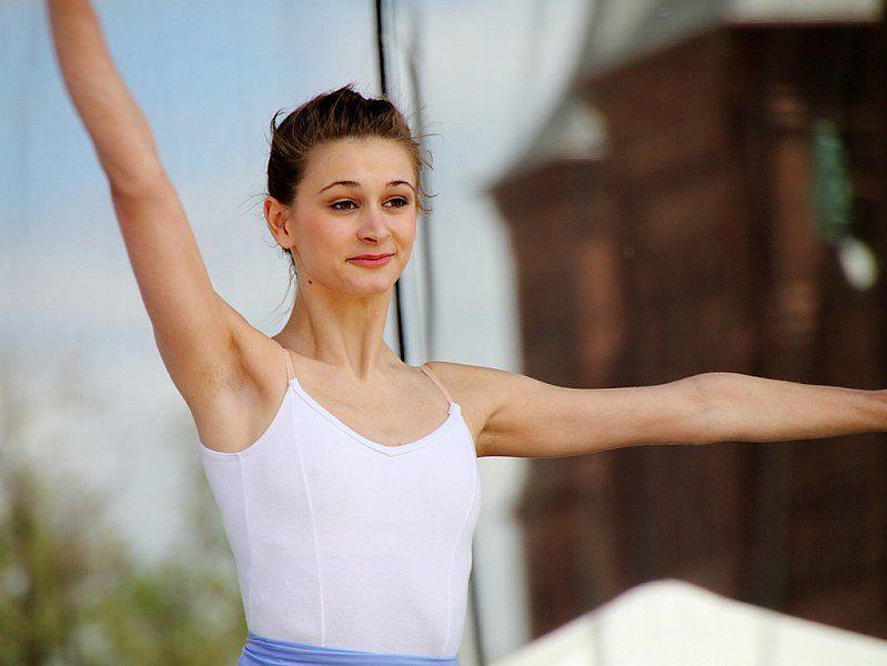 Trening baletu