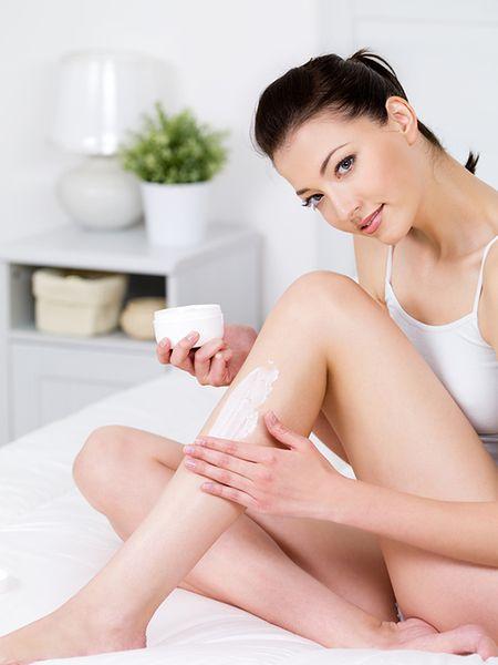 Brak kosmetyku po goleniu