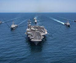 To będzie największa operacja morska od czasu wojny w Iraku. Armada Trumpa ma czym straszyć