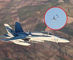 Awaryjne lądowanie boeinga 767 Air Canada. Krążył nad Madrytem, akcja myśliwców F-18