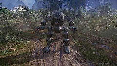 Już niedługo konsolowe World of Tanks wprowadzi tryb z mechami