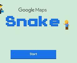 """""""Wąż"""" na Prima Aprilis w Google Maps. Przez cały tydzień będzie można zagrać w kultowego """"Snake'a"""""""