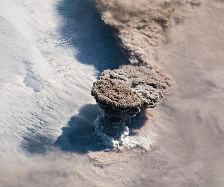 Wybuch wulkanu Rajkioke