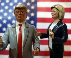 Trzecia debata Trump - Clinton. Republikanin szokuje