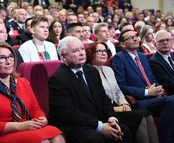"""""""Straszenie euro"""" zdominowało wystąpienie Jarosława Kaczyńskiego. Fala komentarzy"""
