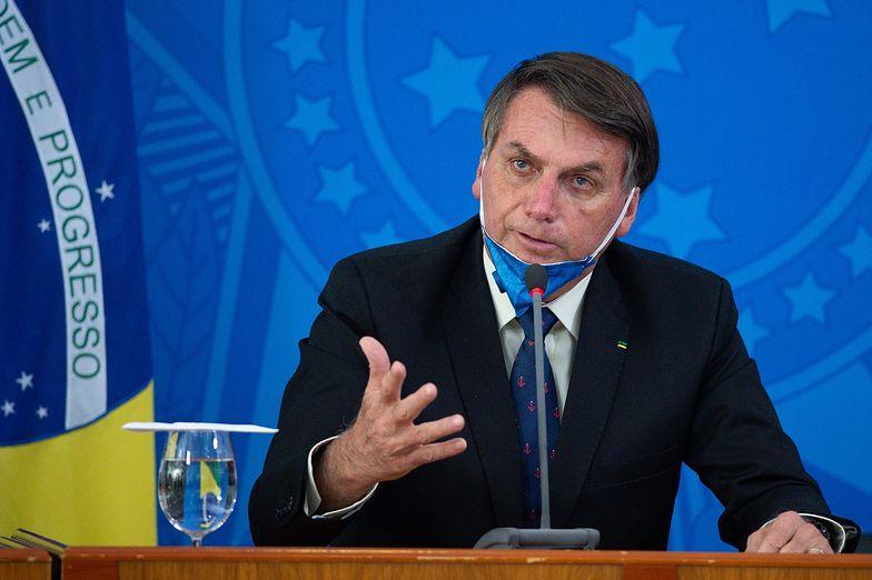 Facebook zareagował na wpisy prezydenta Brazylii