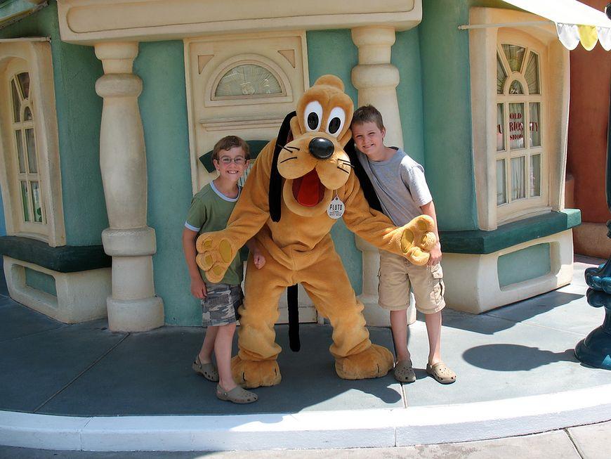 Wizyta w Disneylandzie