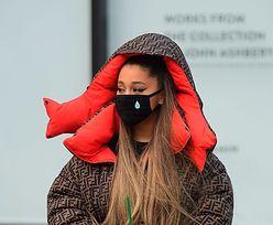 Ariana Grande w maseczce. I wcale nie chodzi o smog