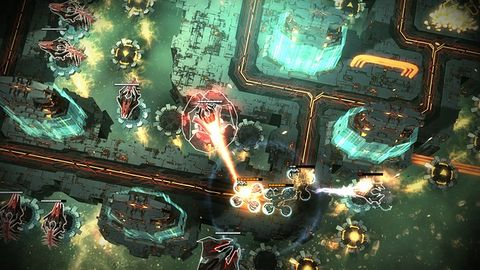 Anomaly Defenders: nowa gra 11 bit studios. Tym razem będziemy bronić się przed inwazją... Ziemian