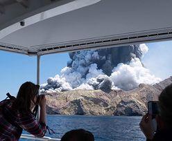 Nowa Zelandia. Wybuch wulkanu na wyspie White. Liczba ofiar zwiększyła się