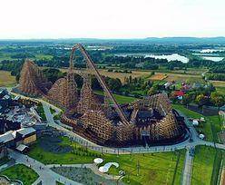 Energylandia. W Polsce powstał najwyższy rollercoaster na świecie