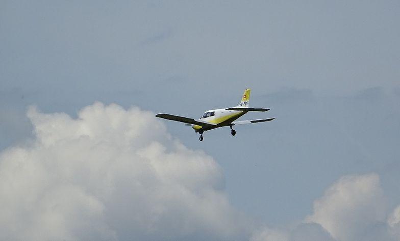 Pilot awionetki miał problemy z lądowaniem. Zdjęcie ilustracyjne.