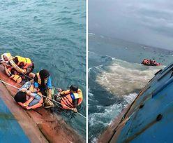 Zatonął prom z Indonezji. Nie żyje 31 osób