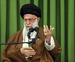 Donald Trump rozsierdził Najwyższego Przywódcę Iranu