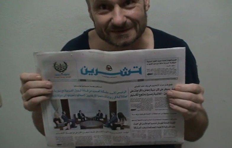 Polak skazany na karę śmierci w Syrii to wrocławski celebryta