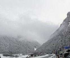 Lawina zasypała przełęcz Brenner. Polacy utknęli