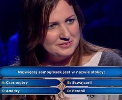 """""""Milionerzy"""": uczestniczka wyłożyła się na swojej kategorii"""