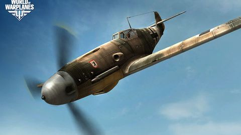 World of Warplanes chwali się samolotami