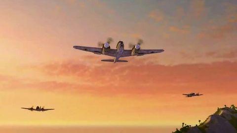 W World of Warplanes ciężkie myśliwce mogą przechwytywać i bombardować [zwiastun]