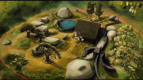 Szkice koncepcyjne z nowej gry twórcy Braid