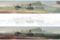 Jak rysowano Dziki Zachód - zobaczcie grafiki koncepcyjne do Call of Juarez: Gunslinger