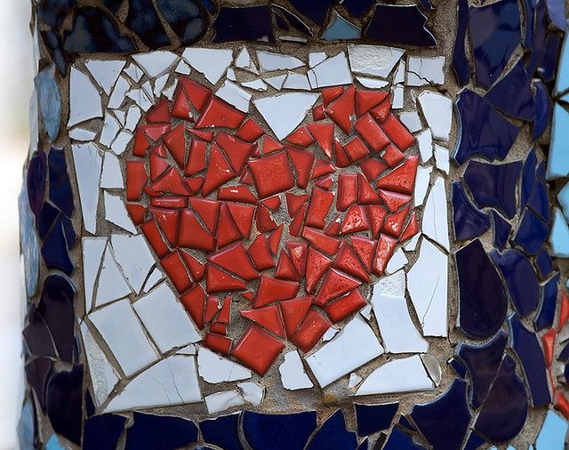Zranione serce po rozstaniu